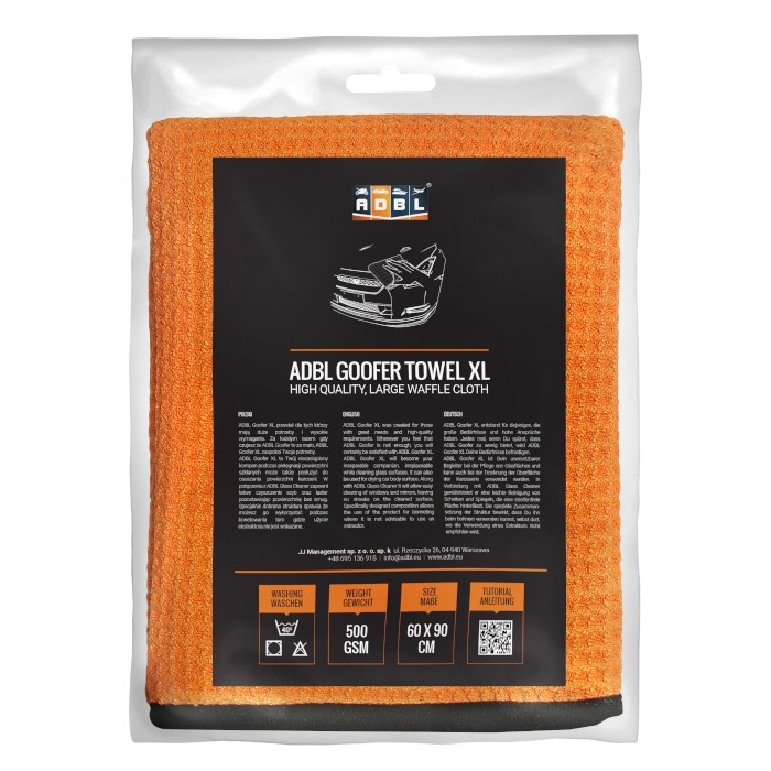 ADBL goofer towel xl