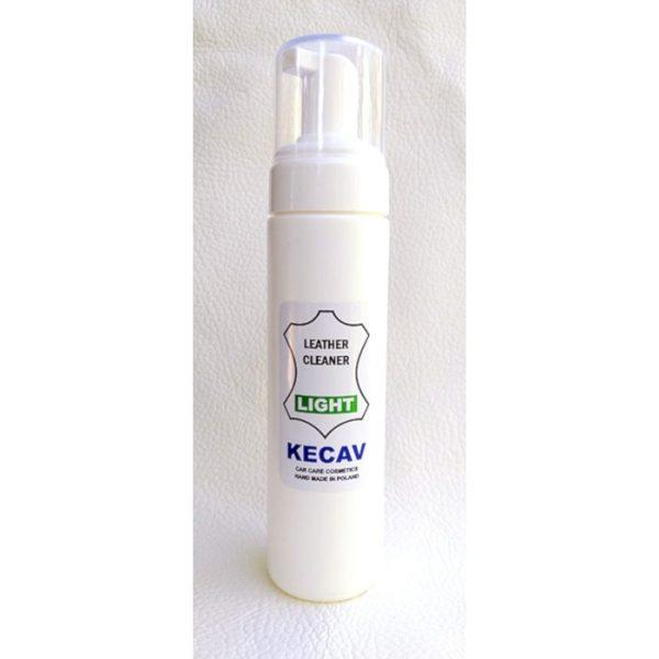 kecav leather cleaner light