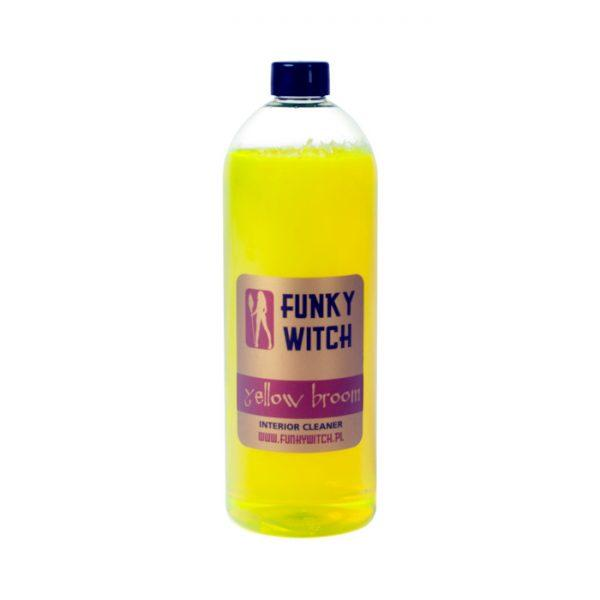 funky witch yellow broom 1l