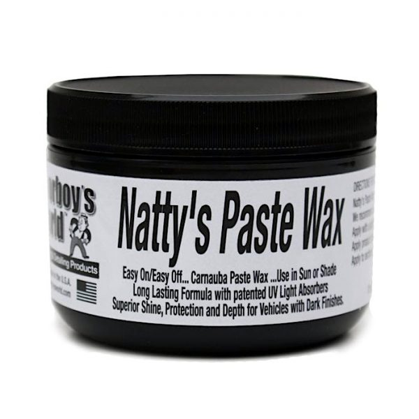 Poorboys Natty's Paste Wax Black