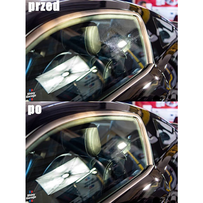shiny garage glass polish pro efekt