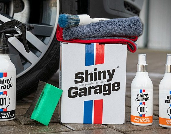 Shiny Garage Wheel Cleaning Care Kit zestaw
