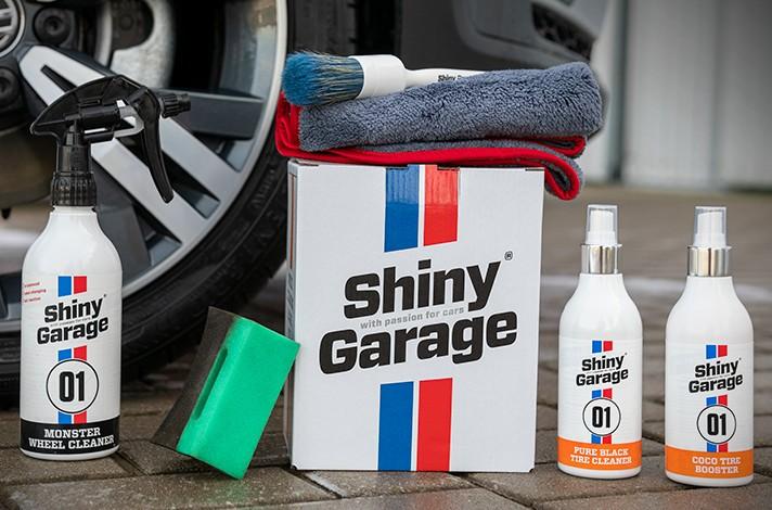 Shiny Garage Wheel Cleaning Care Kit zestaw