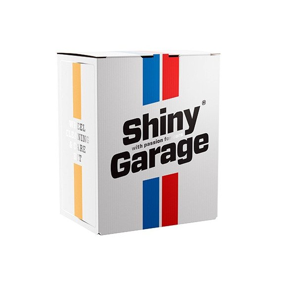 Shiny Garage Wheel Cleaning Care Kit pudełko