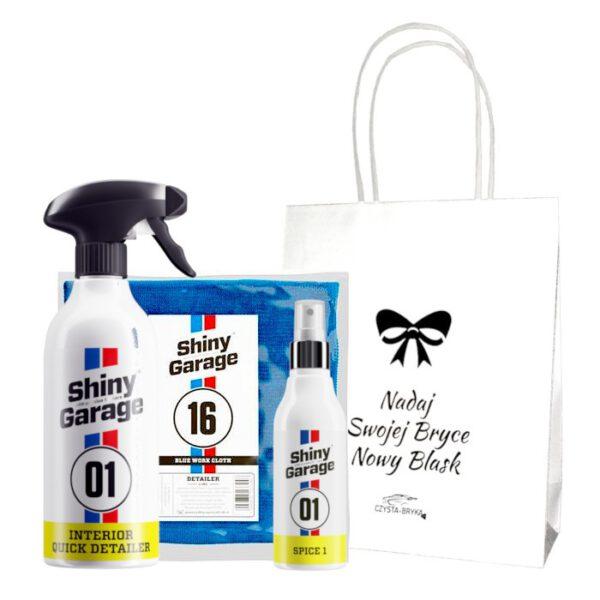 zestaw prezentowy Shiny Garage interior qd zapach