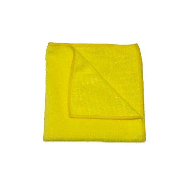 Ściereczka z mikrofibry 30x30cm żółta