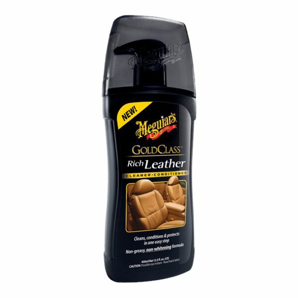 Meguiars Gold Class Leather Cleaner Conditioner