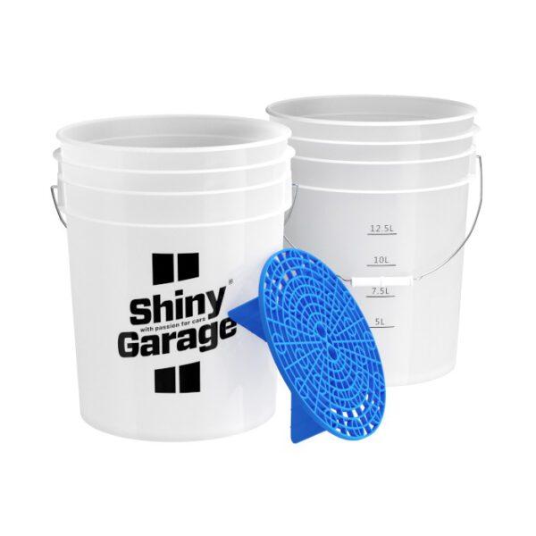 Shiny Garage wiadro separator niebieski