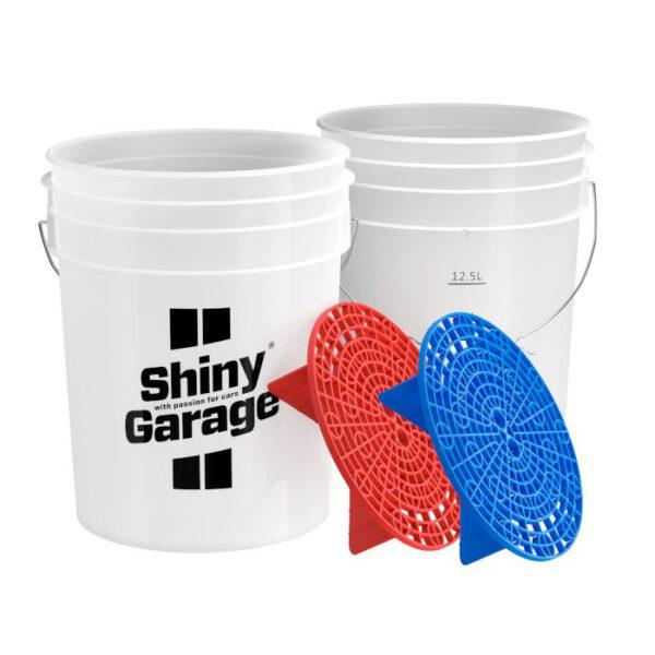 Shiny Garage wash bucket zestaw wiader separatory